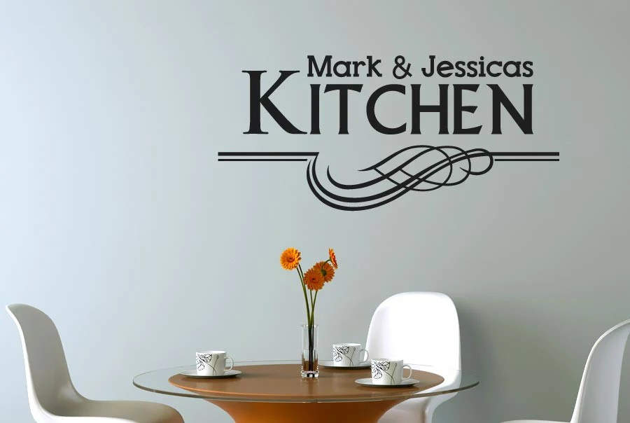 personalised kitchen wall stickers cut wall stickers kitchen wall stickers interior designs architectures ideas
