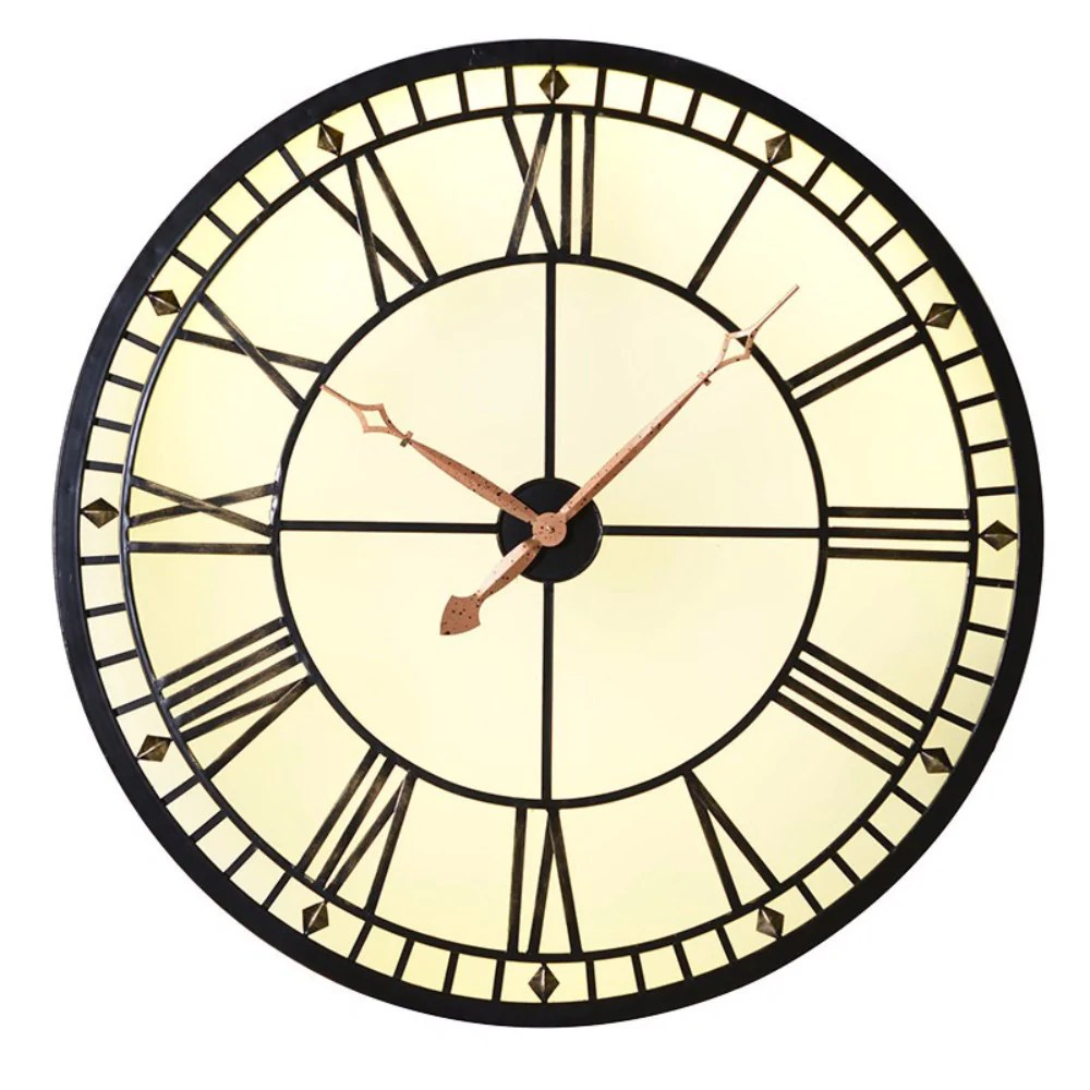 Lit Metal Lit Clocks Annie Mo S
