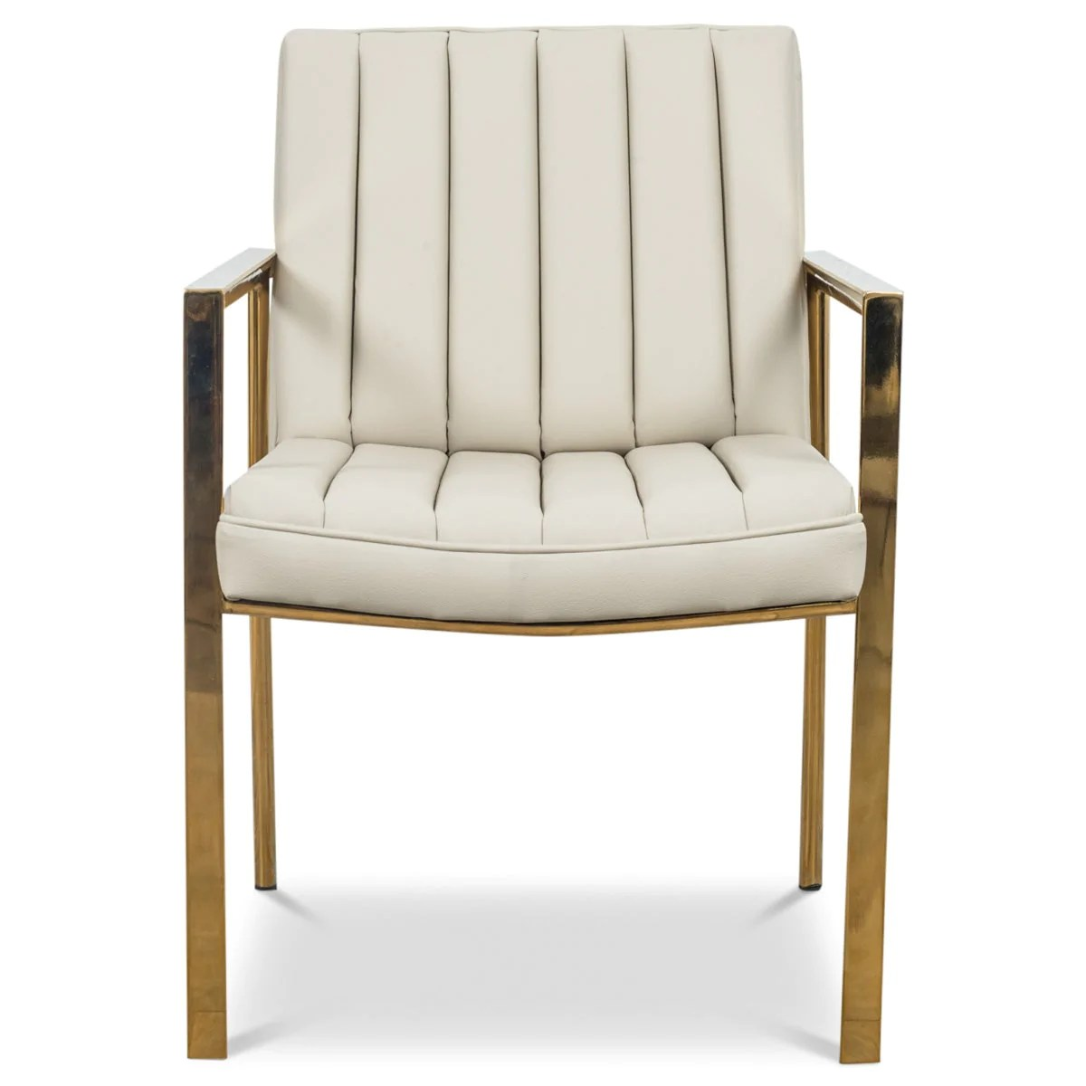 Cream Leather Dining Chairs Argentina Dining Chair Cream Faux Leather Chairs Modshop