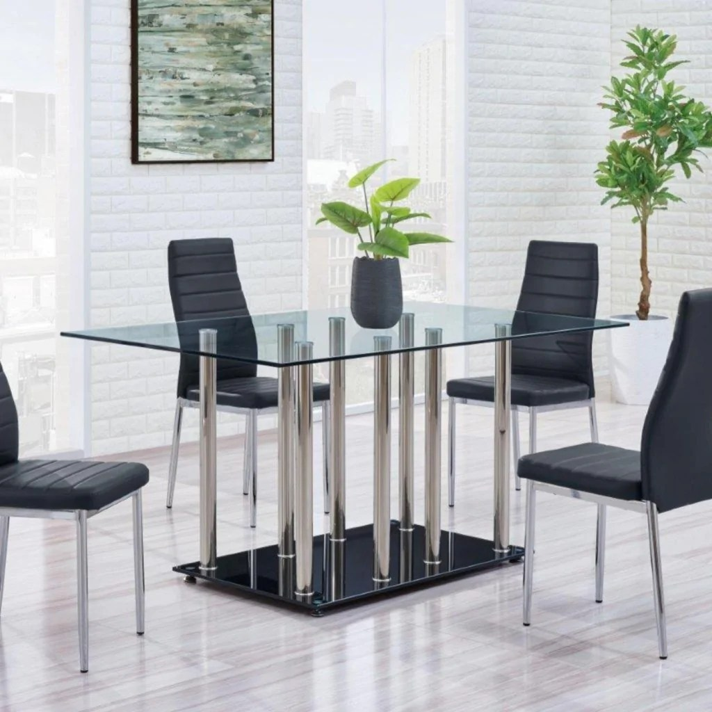 Modern Dining Set Lavon Counter Height Stool