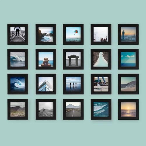 Medium Crop Of Black Picture Frames