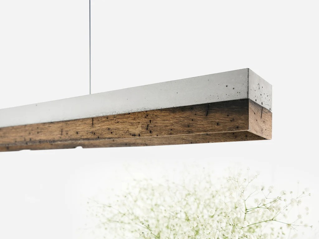 Esstischlampe Holz C1 Limited Edition Pendant Light Old Wood Berlin Sold Out