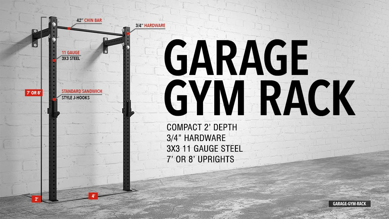 Garage Gym Half Rack American Barbell Garage Gym Rack