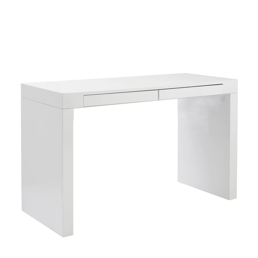 White Office Desk Buy Desks 43 54 Inches 48