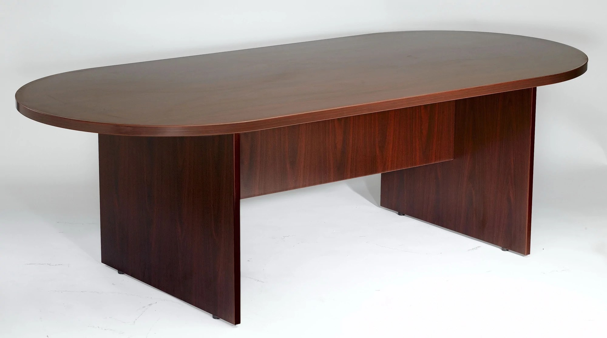 Mahogany Office Desk Contemporary Conference Table In Cherry Or Mahogany Available In 6 8 Or 10