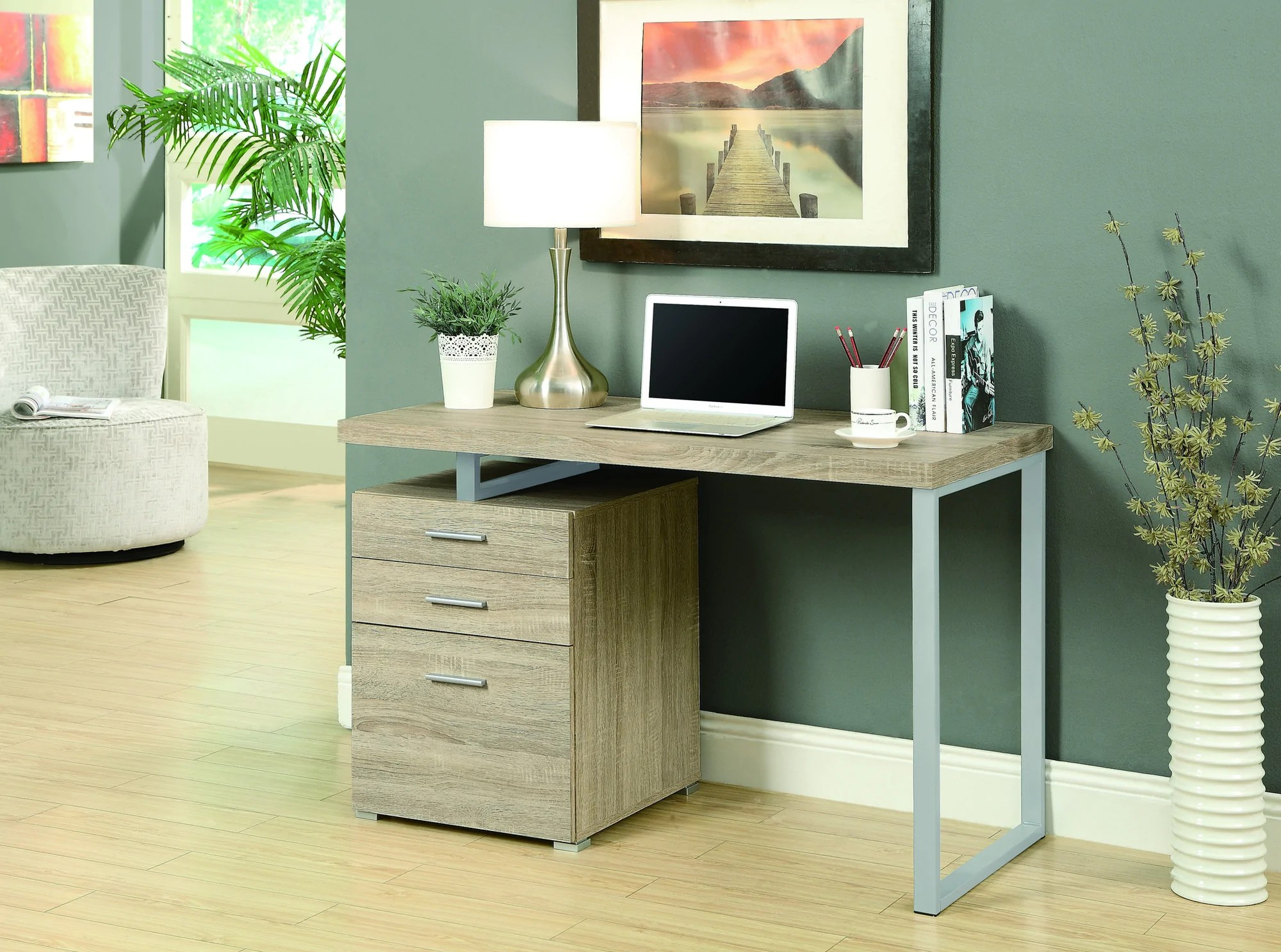 Modern Compact Computer Desk Compact 48