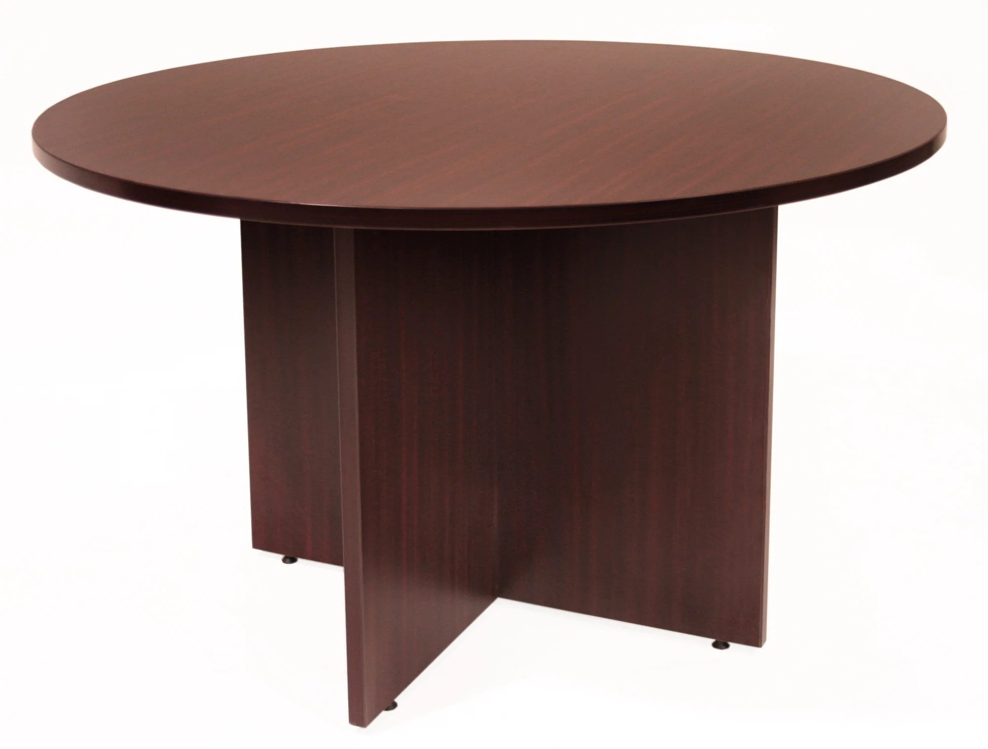 Mahogany Office Desk Premium 42