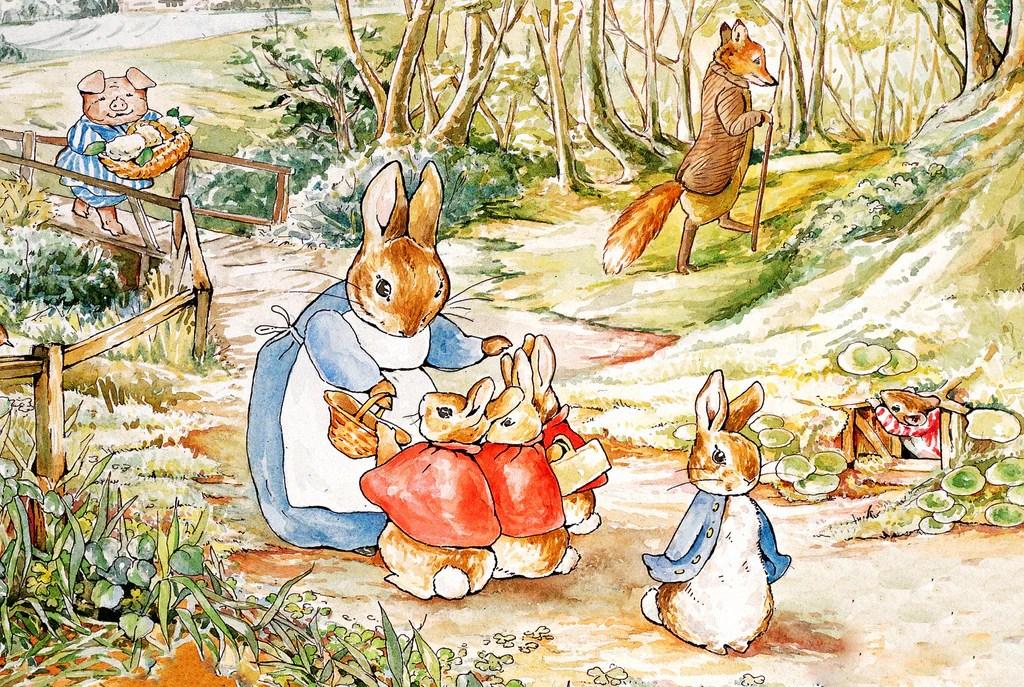 Fall Harry Potter Wallpaper Peter Rabbit Amp Family New York Puzzle Company