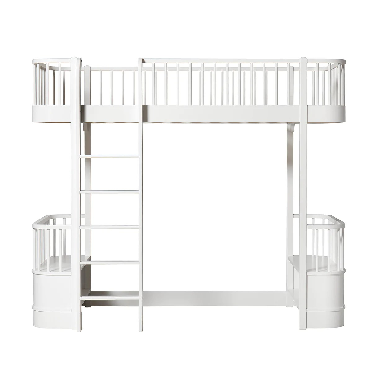 Oliver Furniture Wood Collection Hochbett 90 X 200 Cm Weiss Trouvaille Kids Living