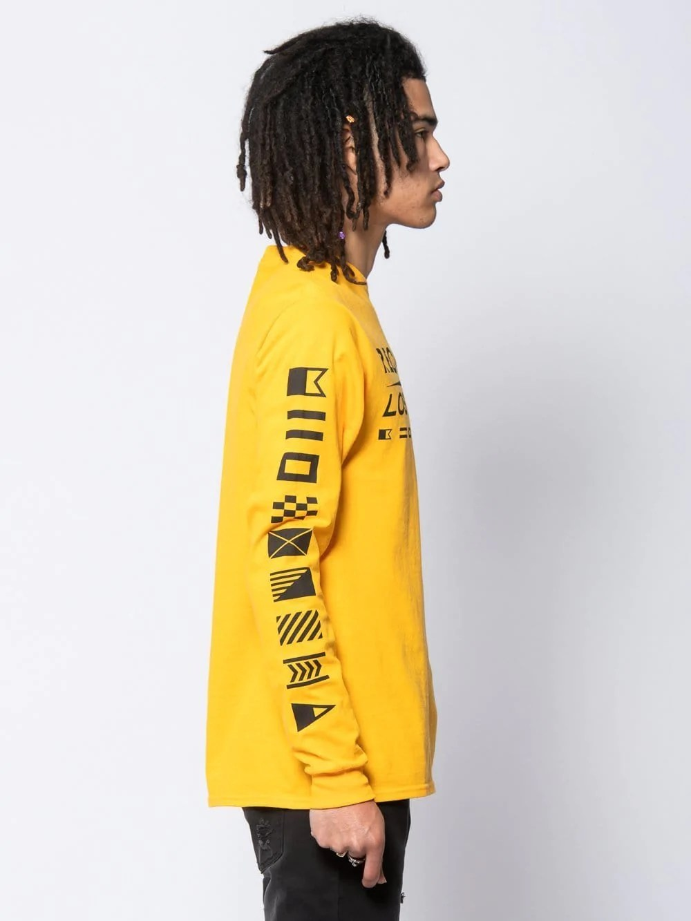 Gold S Admiral Long Sleeve Tee Gold