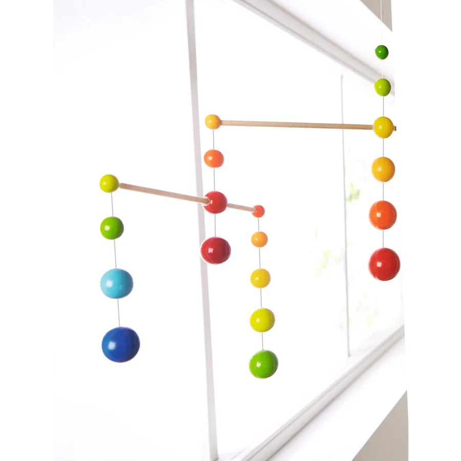 Wooden Baby Mobile Haba Rainbow Balls Wooden Mobile