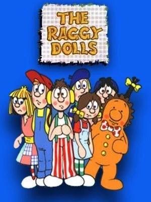 The Raggy Dolls 52 Episodes Cartoon Dvd Set 1986 Very Rare