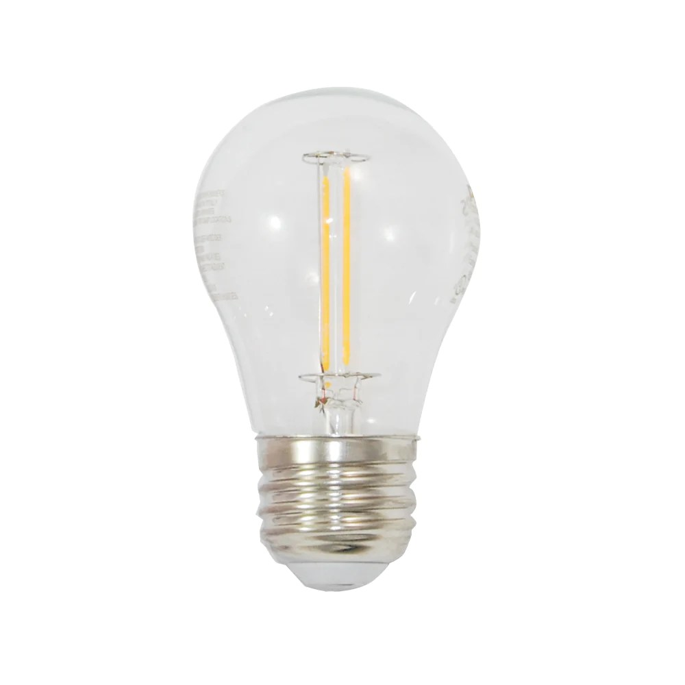 Bulb Philips Philips 461111 2 Watt A15 Led 2200k Soft White Light Bulb 25w Replacement