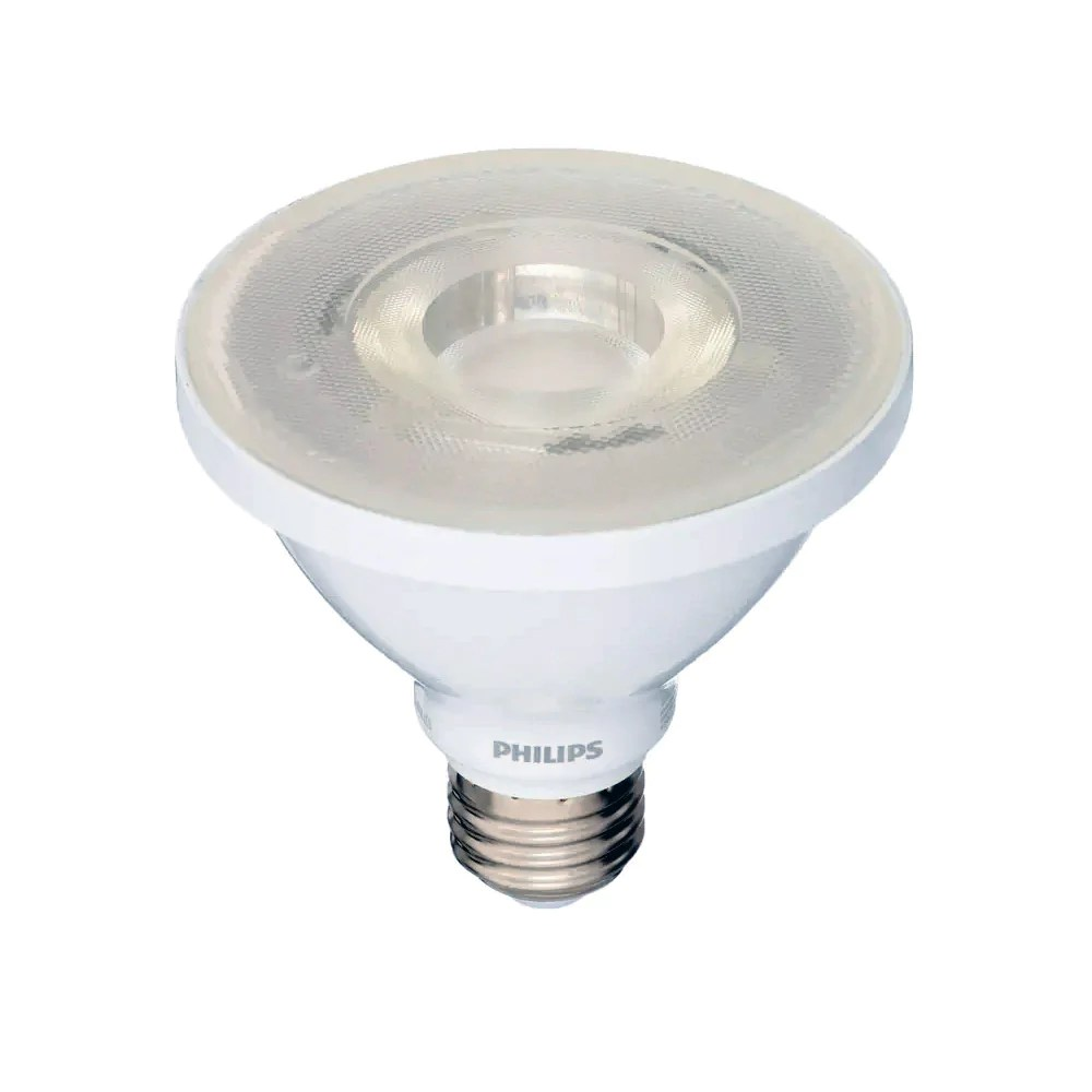 Bright Light Philips Philips 8w Par30s Led 3000k Bright White Indoor Outdoor Flood Bulb 75w Equiv