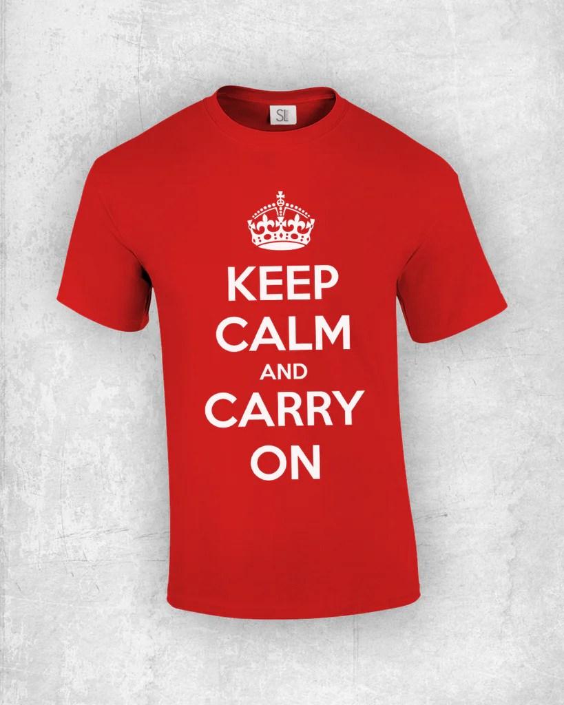 Keep calm t shirt maker shirt