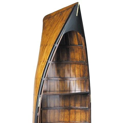 Lapstrake Rowboat Bookcase