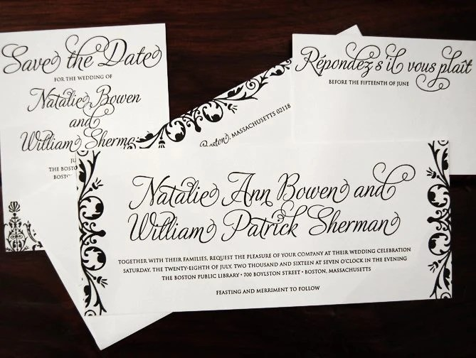 Vermont39s Most Extensive Collection Of Wedding Invitations