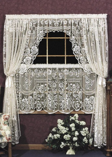 Victorian Coffee Table Heritage Lace - Victorian Rose Collection - Curtains