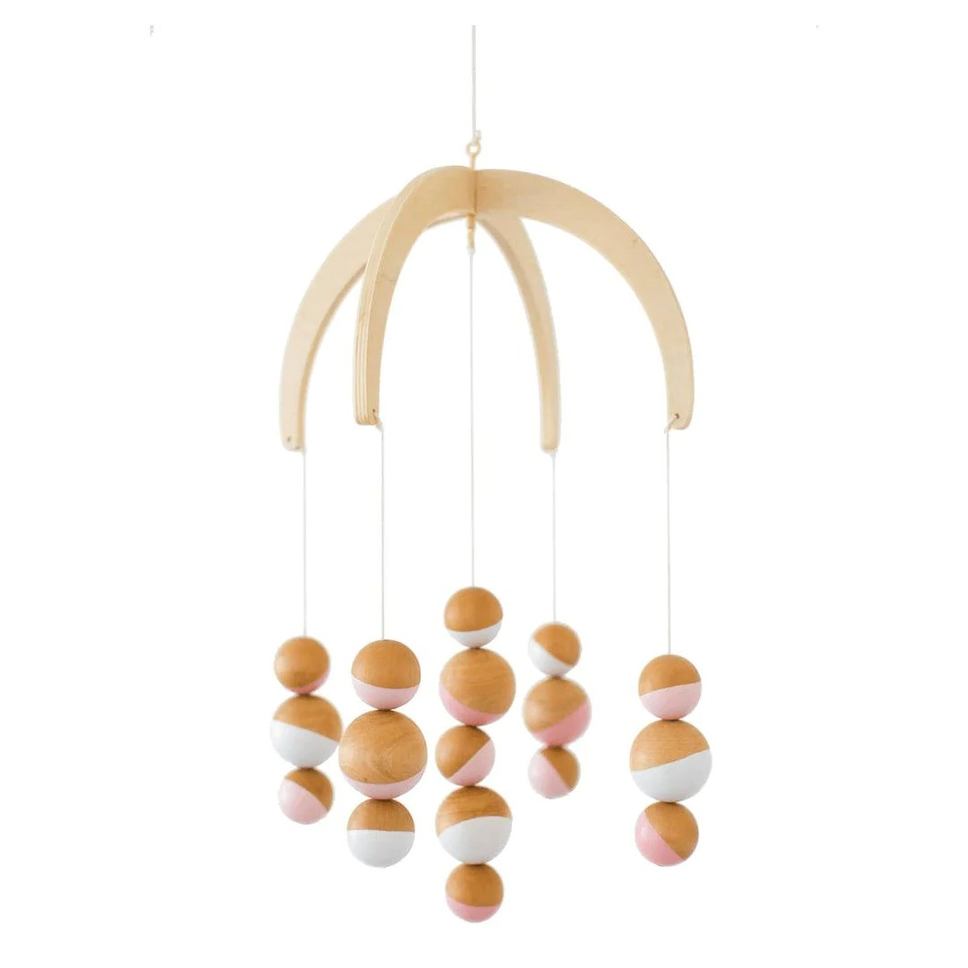 Wooden Baby Mobile Dreaming In Dax Collection Wood Ceiling Mobile
