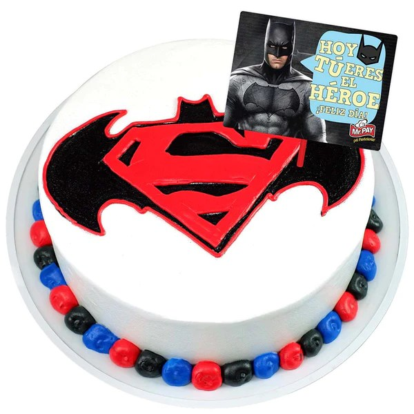 Amazon Rollos Pastel Batman V Superman (ed. Especial) – Mr. Pay Pastelería