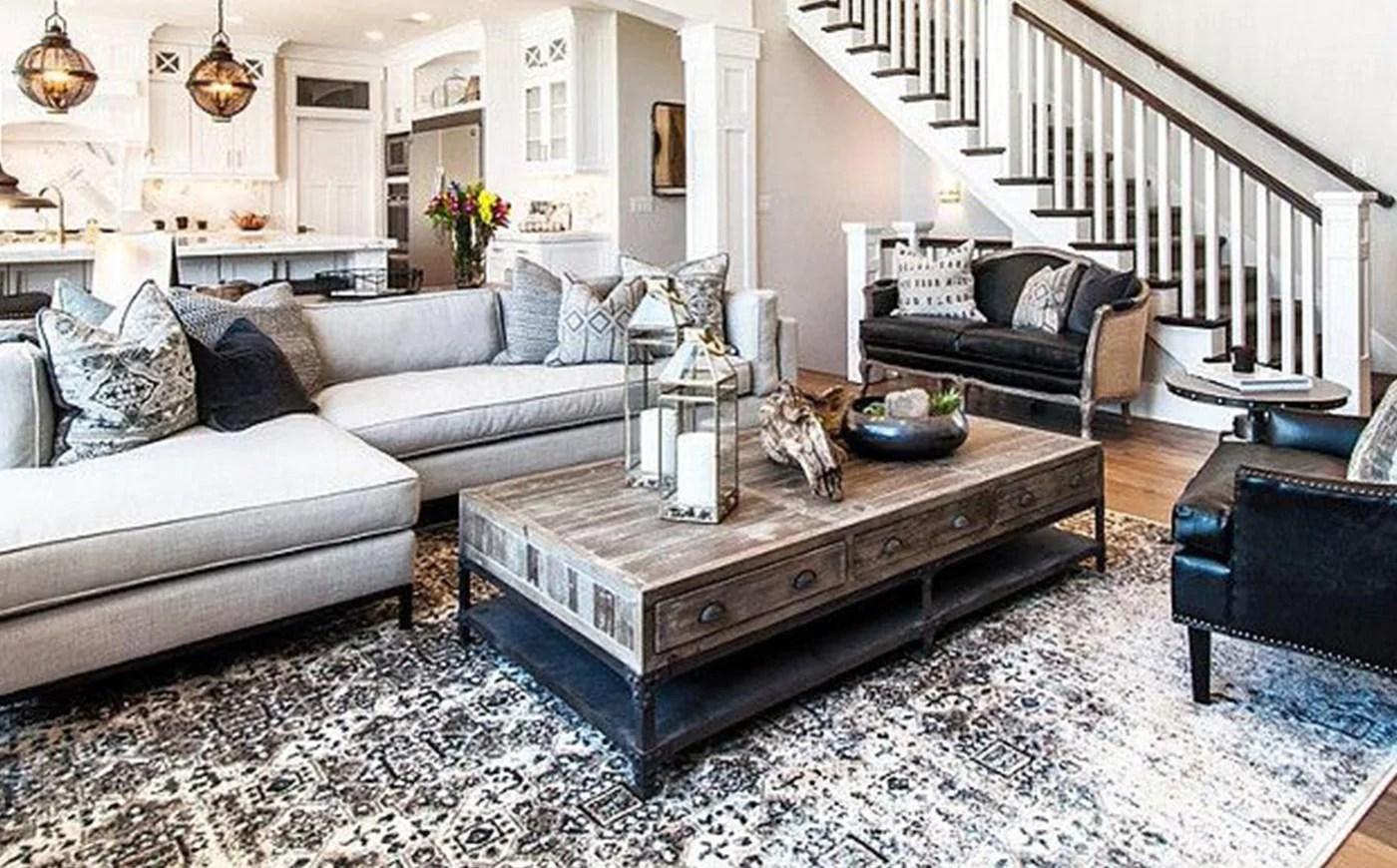 Living Room Vs Great Room Rug Sizes Rug Size Guide Nw Rugs Furniture