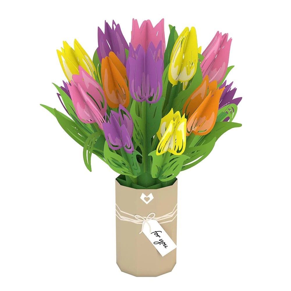 Tulip Bouquet Lovepop