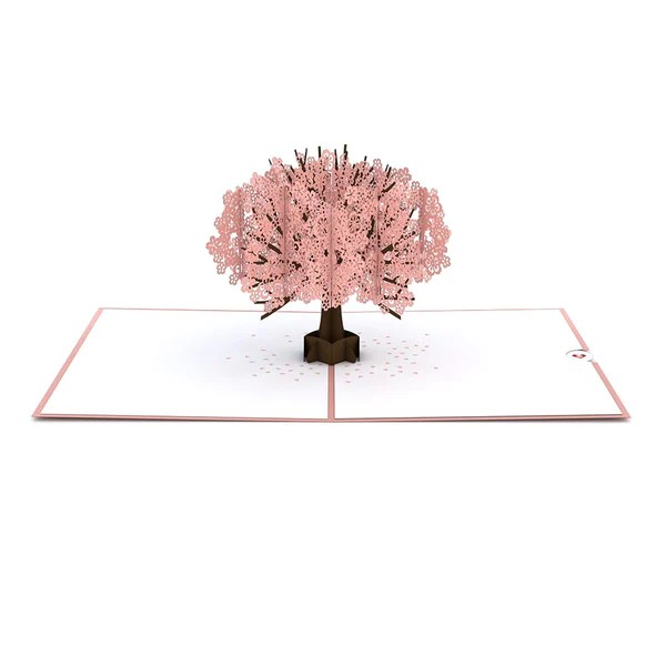 3d Wallpaper Online Shopping India Cherry Blossom Pop Up Mother S Day Card Lovepop