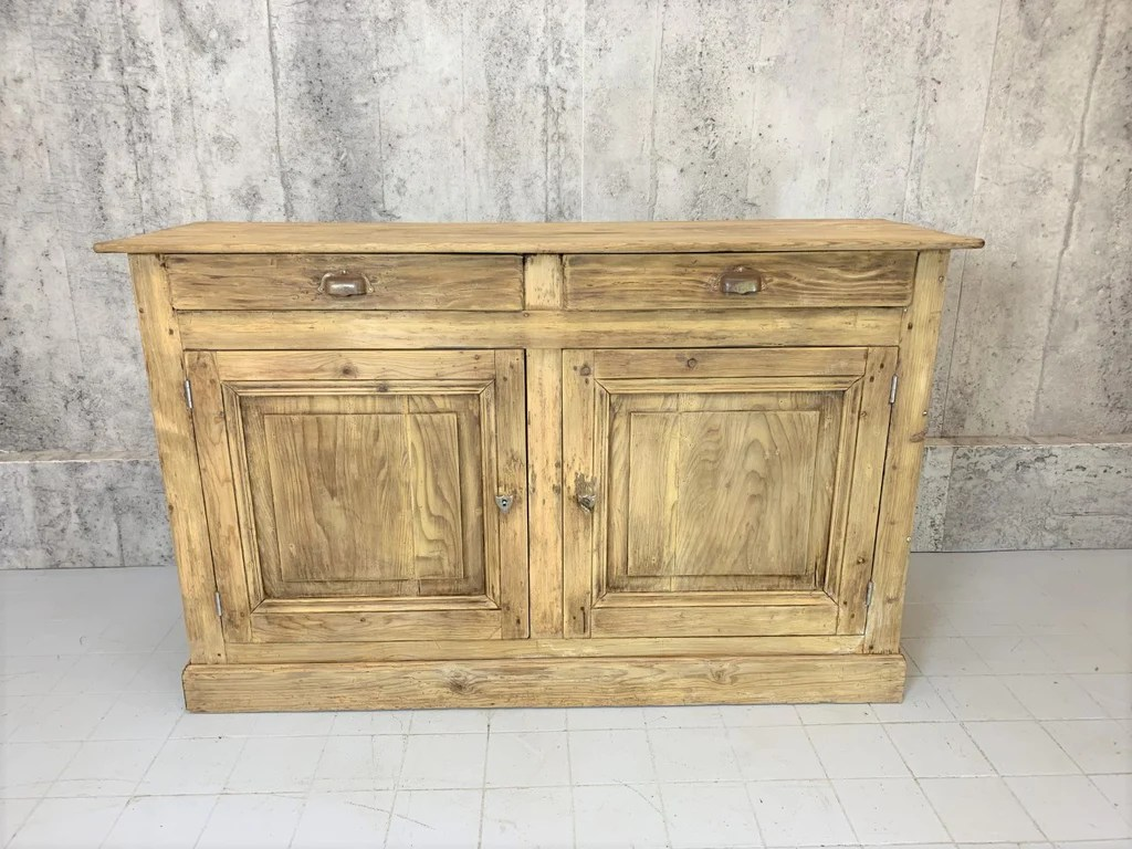 150cm Wide Hardware Store Sideboard Cupboard Vintage French