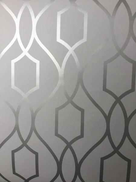 Black Silver Glitter Wallpaper Fine Decor Wallpaper Apex Trellis Silver Fd41995