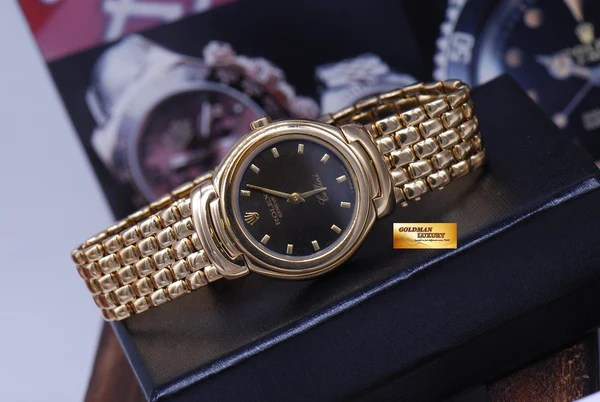 Cellini Watch Rolex Geneve Cellini 18k Yellow Gold Ladies Quartz Ref