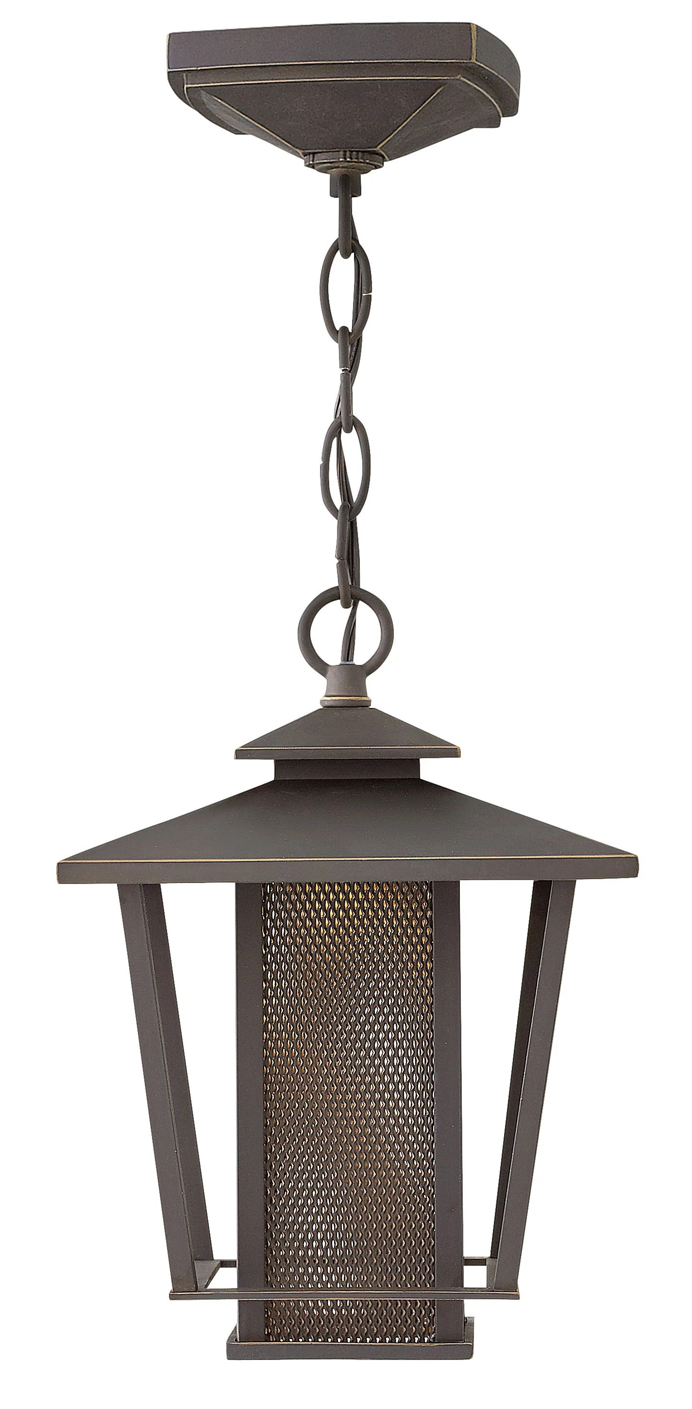 Outdoor Hanging Lamps Theo 1 Light Outdoor Hanging Light In Oil Rubbed Bronze