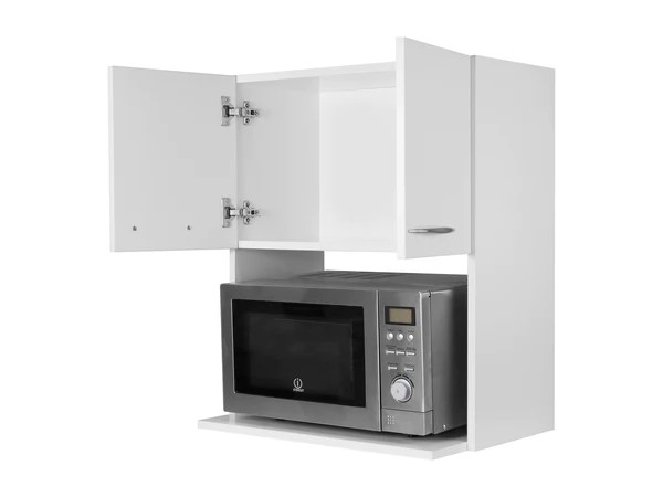 Standard Kitchen Cabinet Depth Nz Microwave Wall Cabinet - No Back | Cabjaks