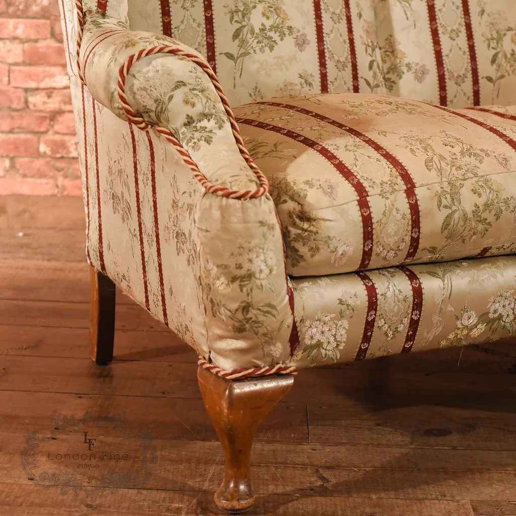 Sofa Queen Anne Style 2 Seater Sofa In A Queen Anne Style C 1900 London Fine