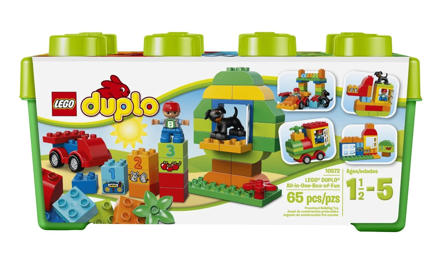 Lego Duplo Creative Play All In One Box Of Fun 10572