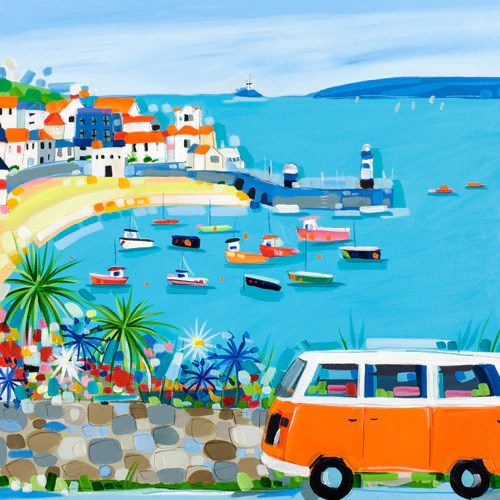 Zand Erover St Ives Here We Come By Janet Bell – Janet Bell Gallery