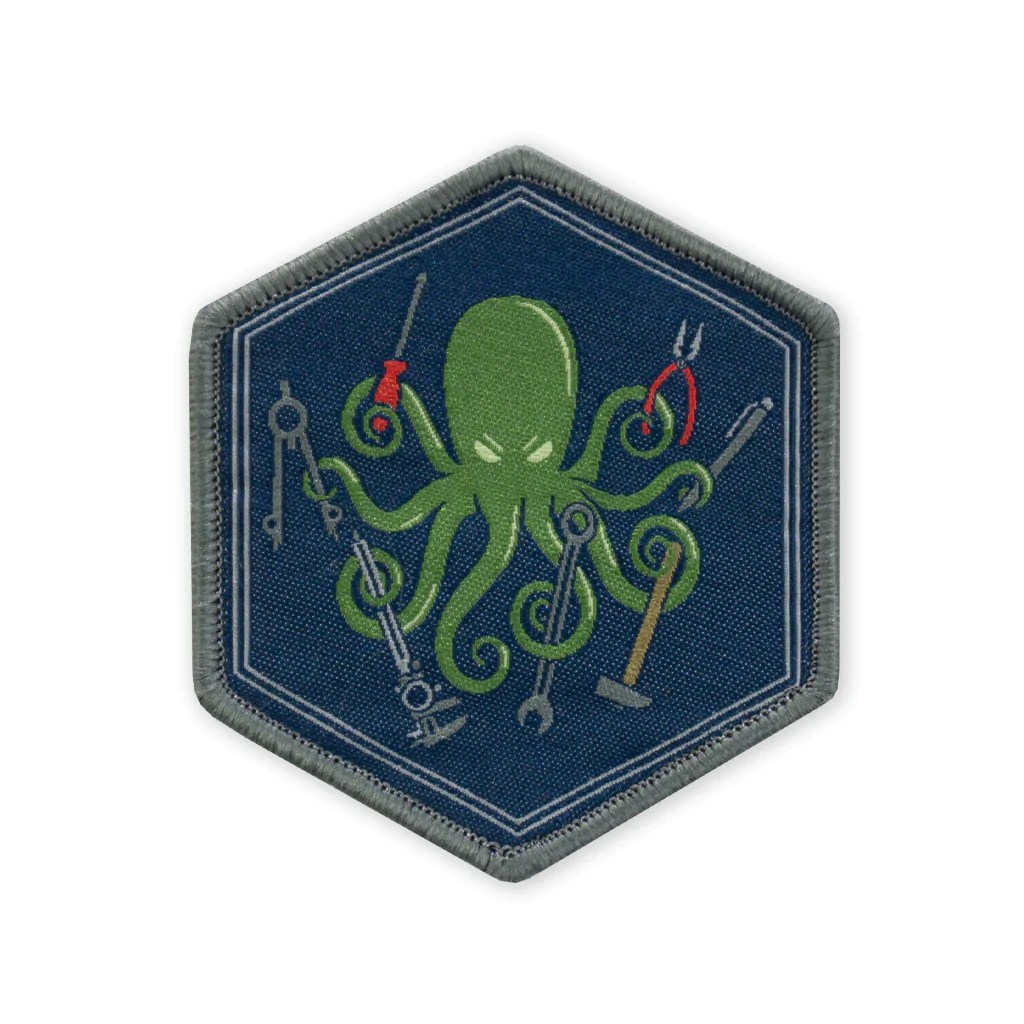 Diy Mode Spd Diy Kraken V2 Ltd Ed Woven Morale Patch