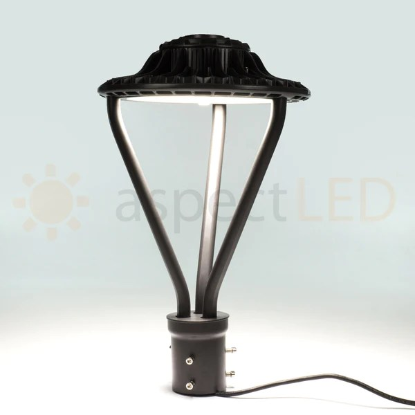 Track Lighting Connectors 50w Round Led Post Mount Light - Commercial Grade Outdoor