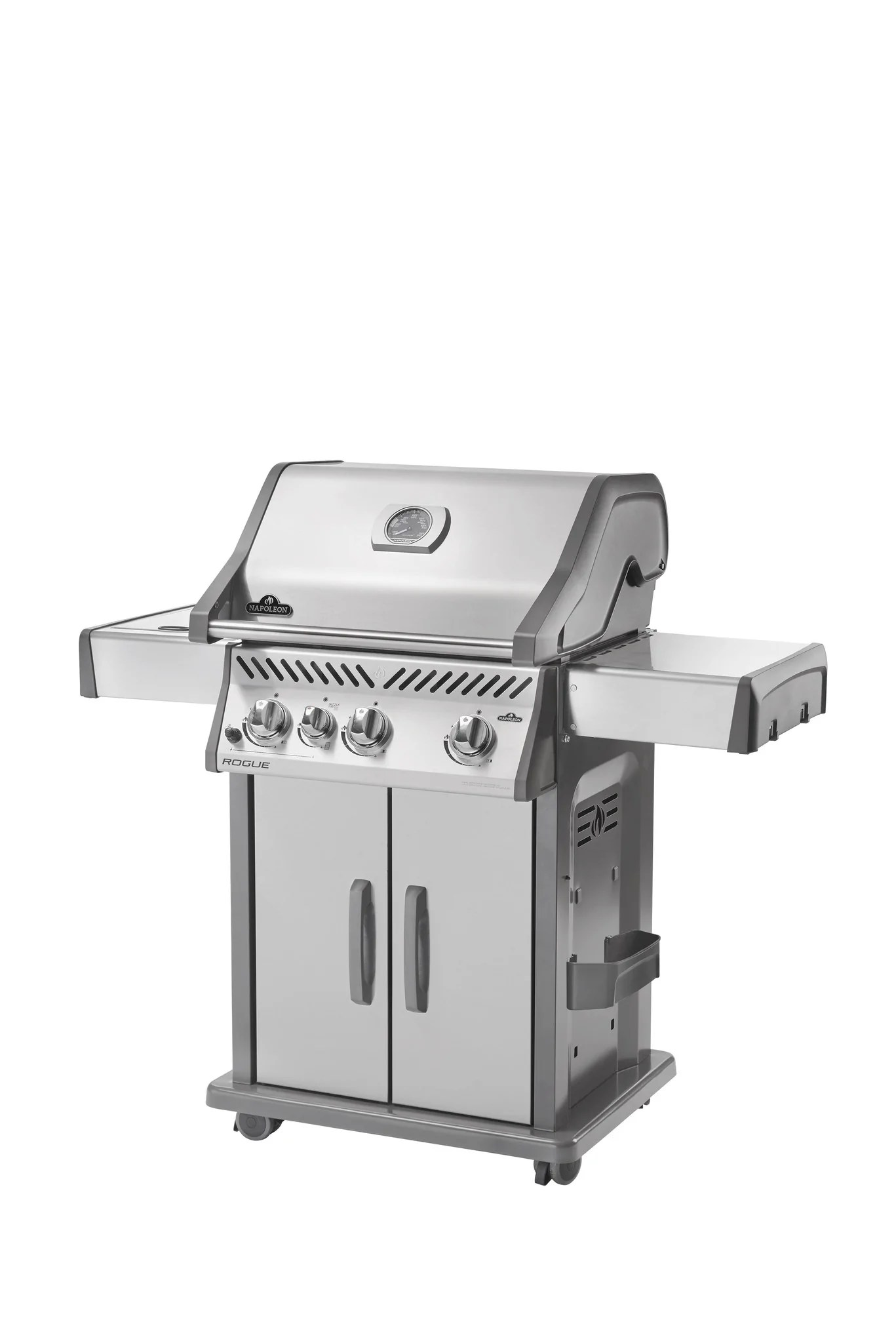 Napoleon Grill Sizzle Zone Napoleon Rogue 425 Gas Grill With Infrared Side Burner Leisure Depot
