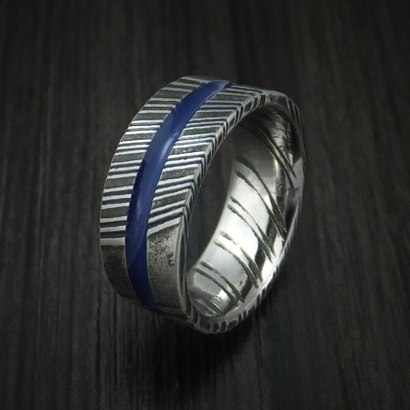 Large Of Thin Blue Line Ring
