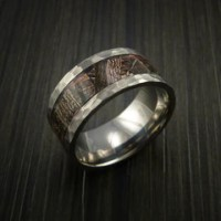 Kings Camo WOODLAND SHADOW Titanium Ring