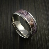 Kings Camo DESERT SHADOW and Titanium Ring Camo Style Band ...