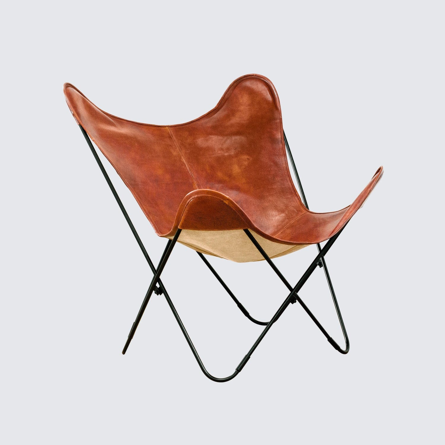 Leather Butterfly Chair Handcrafted In Argentina The Citizenry