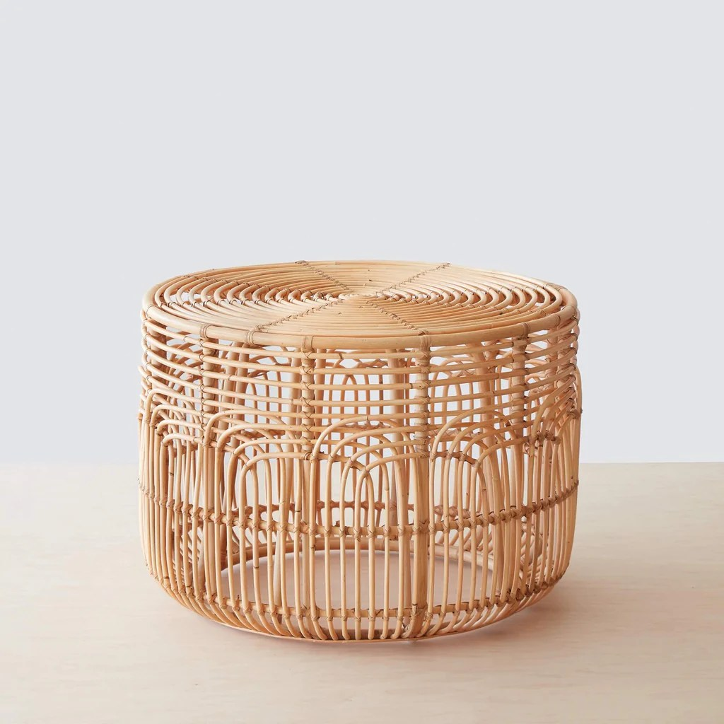 Rattan Table Naga Rattan Side Table