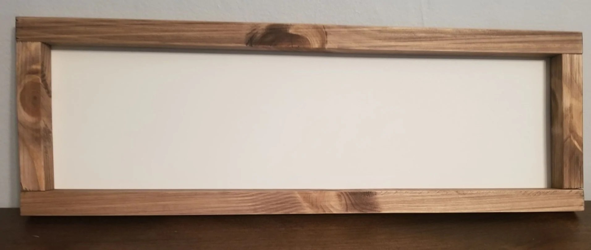 Rustic Farmhouse Style Sign Blanks Not Just Frames