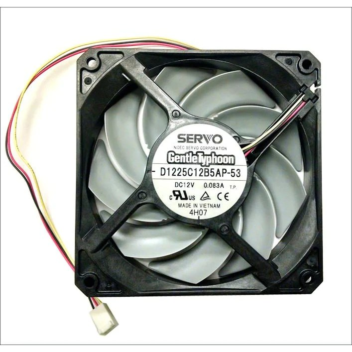 Ventilator Lautlos Gentletyphoon 120mm Silent Fan Series D1225c12b 1450, 1850