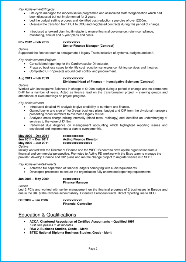 pages template cv