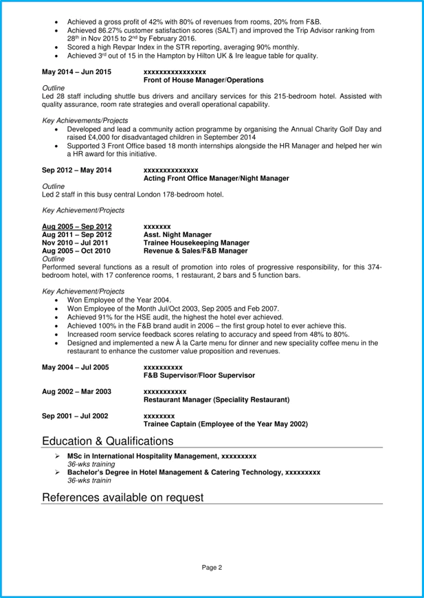 cv office manager pdf