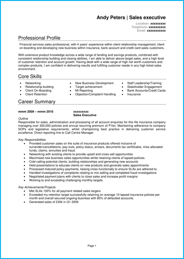 assistant manager cv linkedin