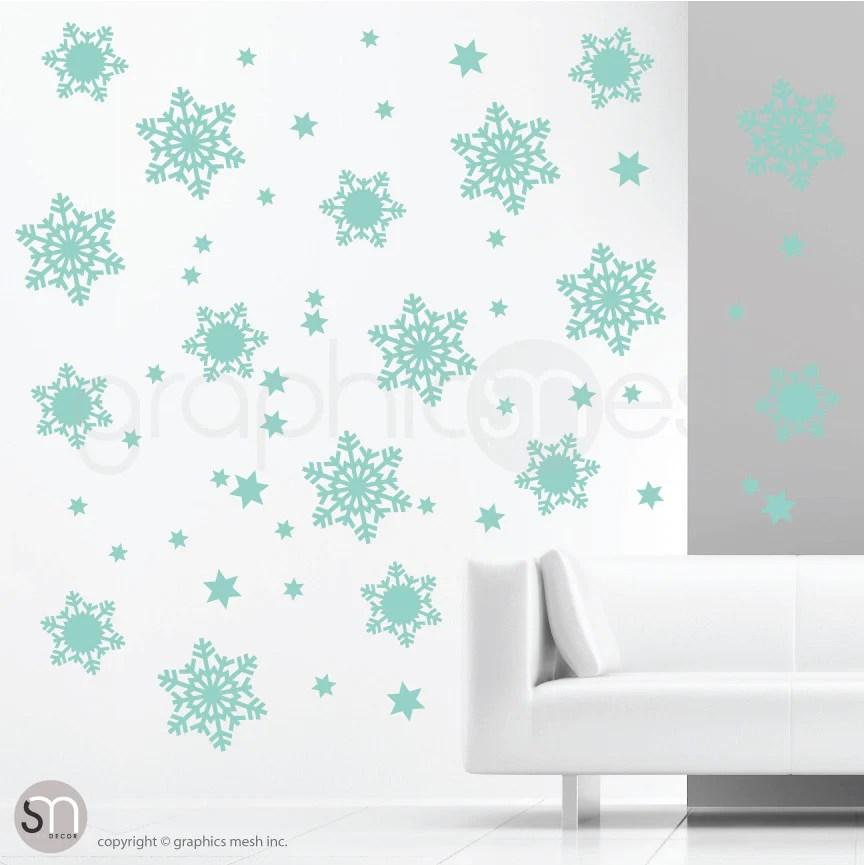 snowflakes u0026 stars