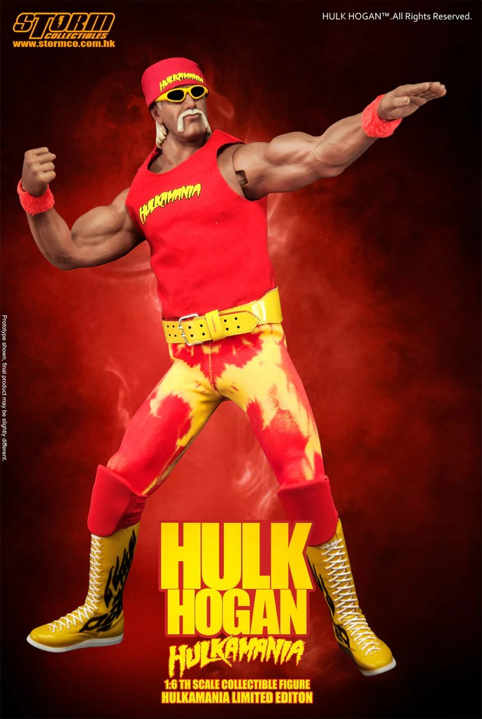 Moustache Wallpaper Hd 1 6th Hulk Hogan Hulkamania Collectible Figure Storm